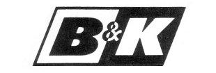 B<?>&<?>K