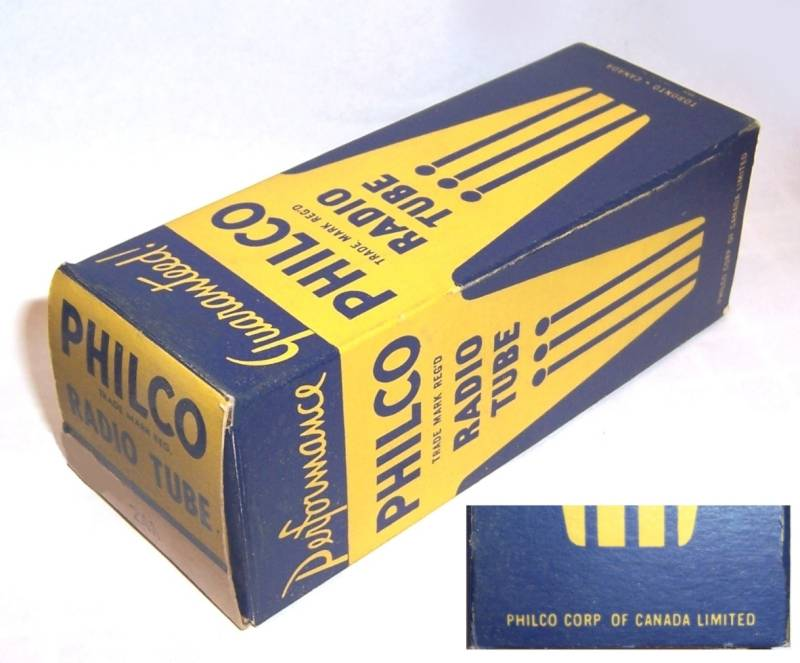 Pacific Tv Technical Data Phono Cartridge Tube Box Photos