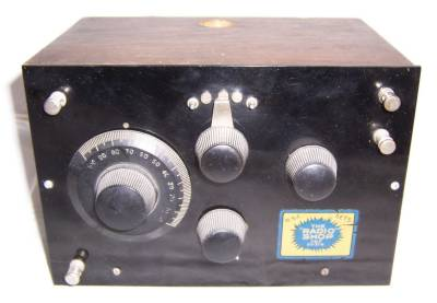 The Radio Shop 1 tube receiver