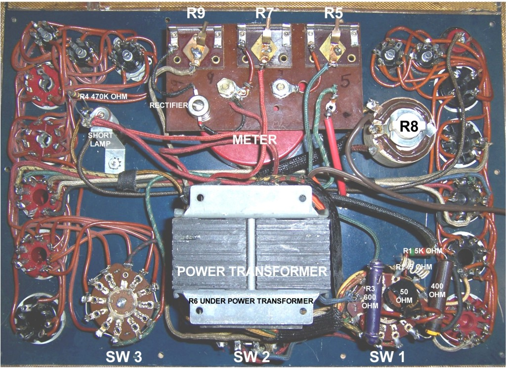 stark955complocpix pacific t v online schematics Eico Tube Tester 140 at crackthecode.co